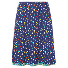 Buy White Stuff Stencil Spot Skirt, Multi Online at johnlewis.com