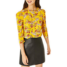 Buy Oasis Daisy Top, Bright Yellow Online at johnlewis.com