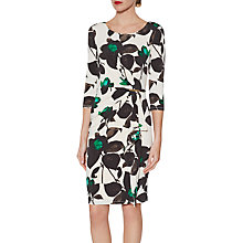 Buy Gina Bacconi Nicola Floral Jersey Dress, Jade Online at johnlewis.com