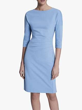 Winser London Miracle Dress, Dusky Blue