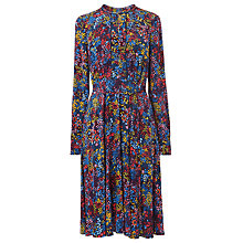 Buy L.K. Bennett Letisa Dress, Blue/Multi Online at johnlewis.com