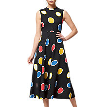 Buy L.K. Bennett Marlina Colour Spot Dress, Black/Multi Online at johnlewis.com