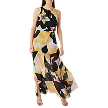 Buy Coast Culpina Maxi Dress, Black/Multi Online at johnlewis.com