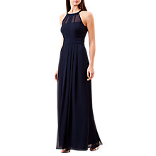 Buy Hobbs Alexis Maxi Dress, Navy Online at johnlewis.com