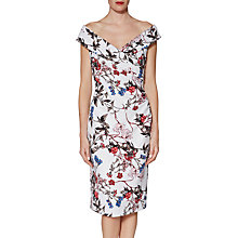 Buy Gina Bacconi Dana Floral Jersey Dress, Multi Online at johnlewis.com
