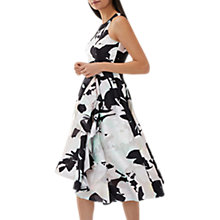 Buy Coast Antonia Petite V-Neck Jacquard Midi Dress, Multi Online at johnlewis.com