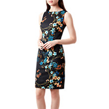 Buy Hobbs Moira Dress, Navy/Multi Online at johnlewis.com