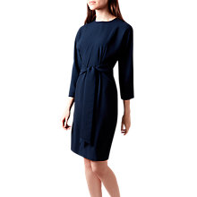 Buy Hobbs Renee Dress, Navy Online at johnlewis.com