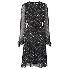 Buy L.K. Bennett Perl Dress, Black/White Online at johnlewis.com