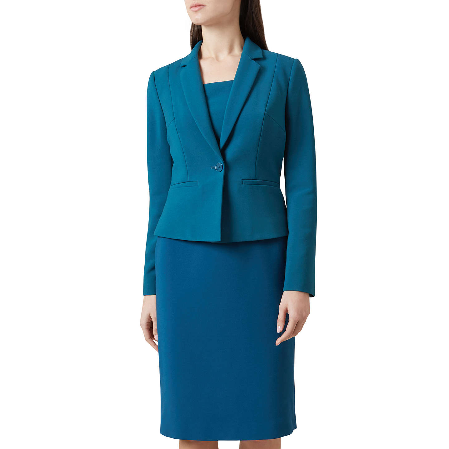 Offer: Hobbs Catriona Jacket, Blue at John Lewis