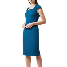 Buy Hobbs Catriona Dress, Petrol Online at johnlewis.com