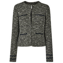 Buy L.K.Bennett Rory Tailored Jacket, Black/Cream Online at johnlewis.com