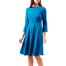Buy Hobbs Samantha Dress, Teal Online at johnlewis.com