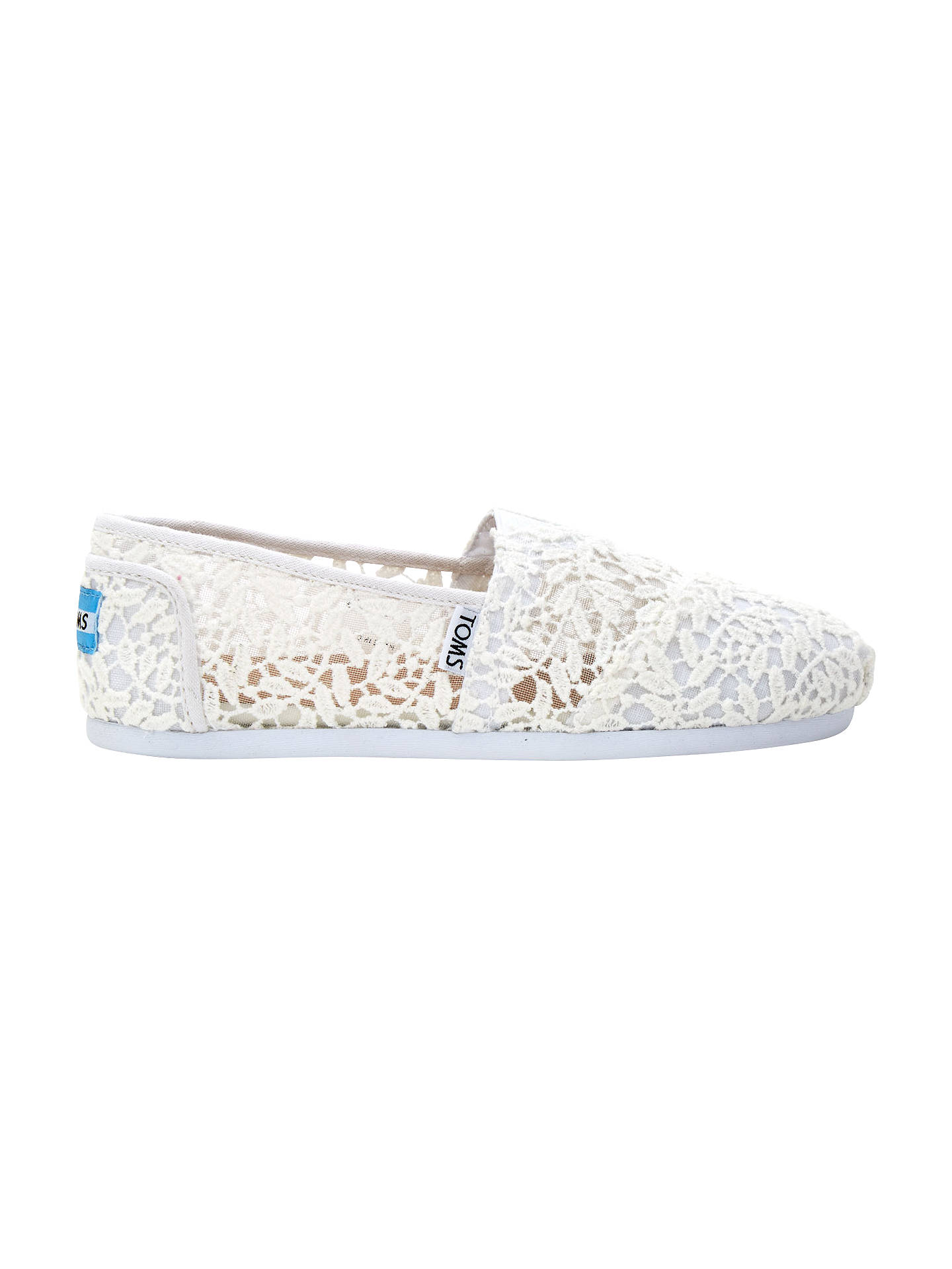 5b64aaf6d08 Buy TOMS Alpargata Lace Slip On Espadrilles