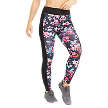 Buy Oasis Tropical Orchid Leggings, Multi/Black Online at johnlewis.com