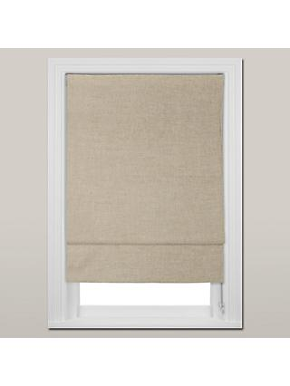 John Lewis & Partners Lymington Roman Blind, Natural