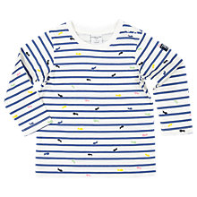 Buy Polarn O. Pyret Baby Ant Top, White Online at johnlewis.com