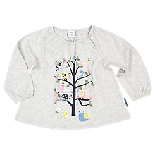Buy Polarn O. Pyret Baby Tree Top, Grey Online at johnlewis.com