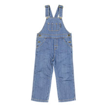 Buy Polarn O. Pyret Children's Dungarees, Blue Denim Online at johnlewis.com