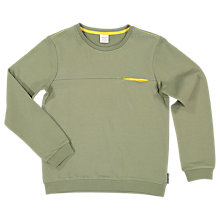 Buy Polarn O. Pyret Children's Sweatshirt, Green Online at johnlewis.com