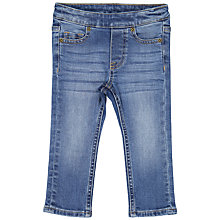 Buy Polarn O. Pyret Baby Denim Slim Jeans, Denim Blue Online at johnlewis.com