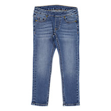 Buy Polarn O. Pyret Children's Slim Fit Jeans, Blue Denim Online at johnlewis.com