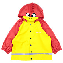 Buy Polarn O. Pyret Baby Raincoat, Yellow/Red, 12-24 months Online at johnlewis.com