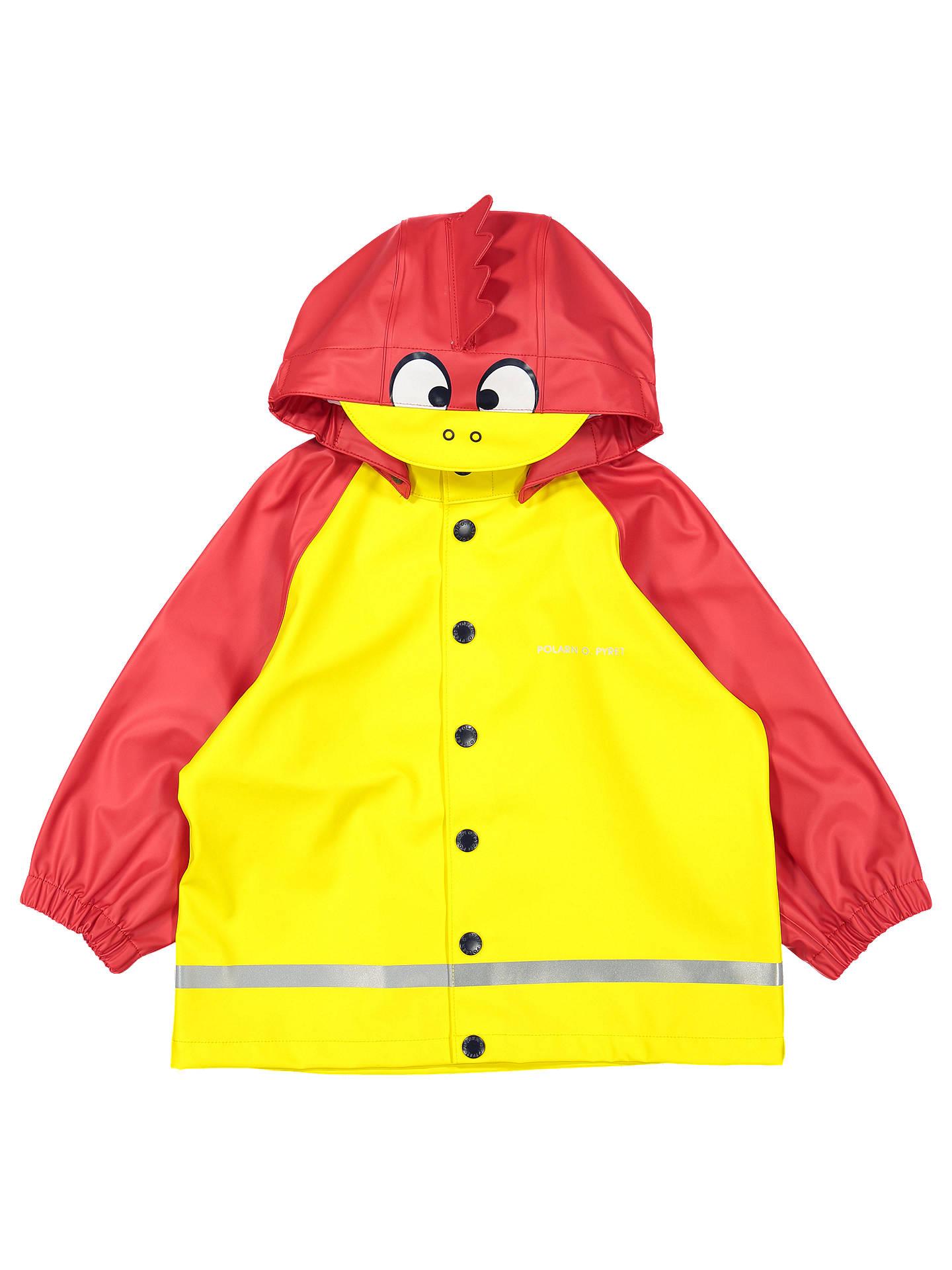 Polarn O Pyret Baby Raincoat Yellow Red 12 24 Months At John Jacket Vacuum Pump Wiring Diagram Buypolarn Online