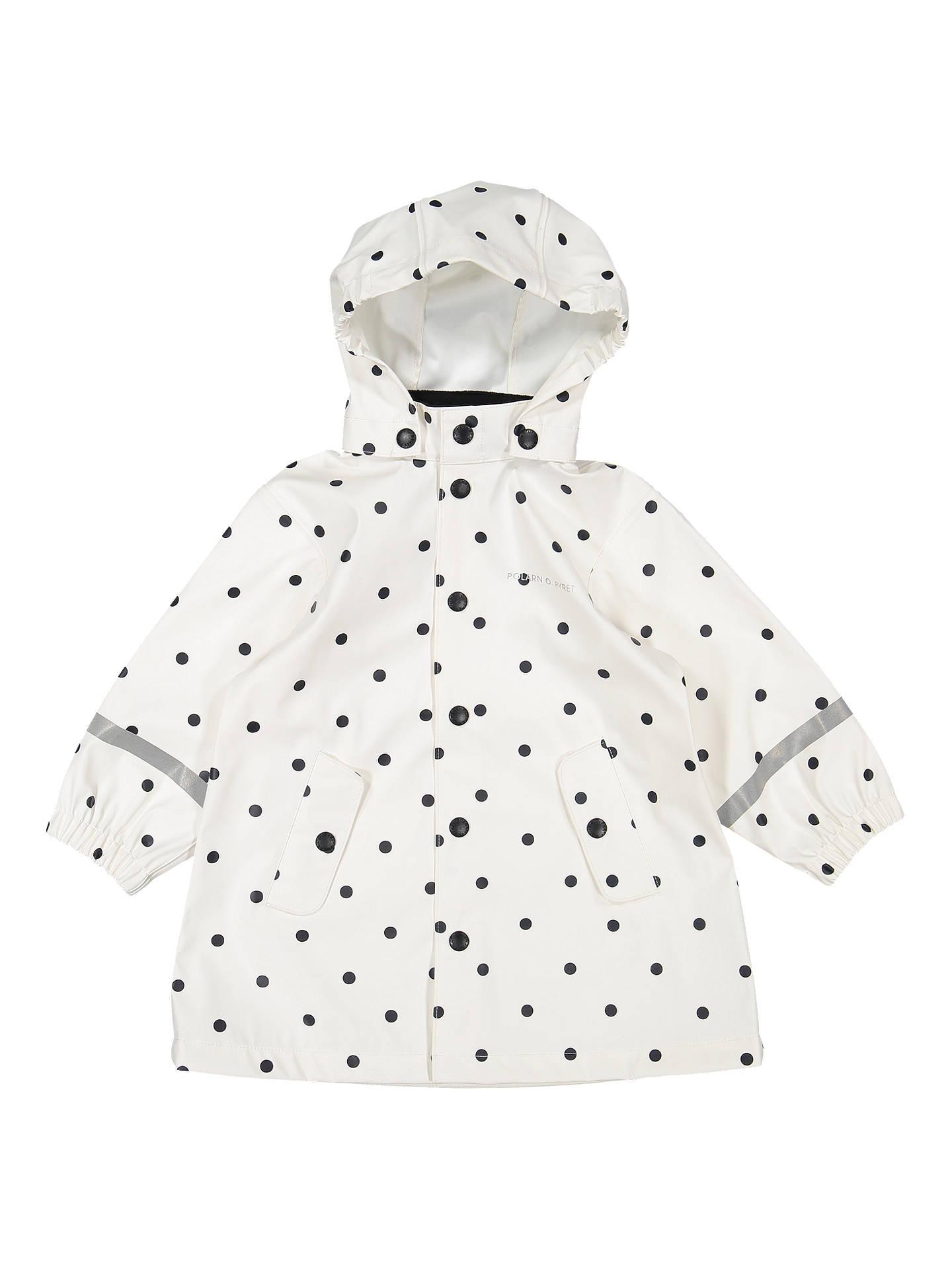 940c36b3e961 Polarn O. Pyret Baby Polka Dot Raincoat