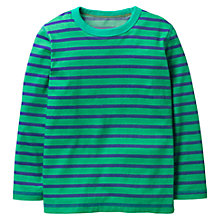 Buy Mini Boden Boys' Super Soft T-Shirt, Green Online at johnlewis.com