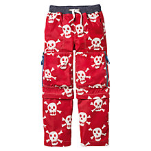 Buy Mini Boden Boys' Techno Trousers, Red Online at johnlewis.com