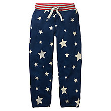 Buy Mini Boden Boys' Fun Glow In The Dark Track Trousers, Blue Online at johnlewis.com