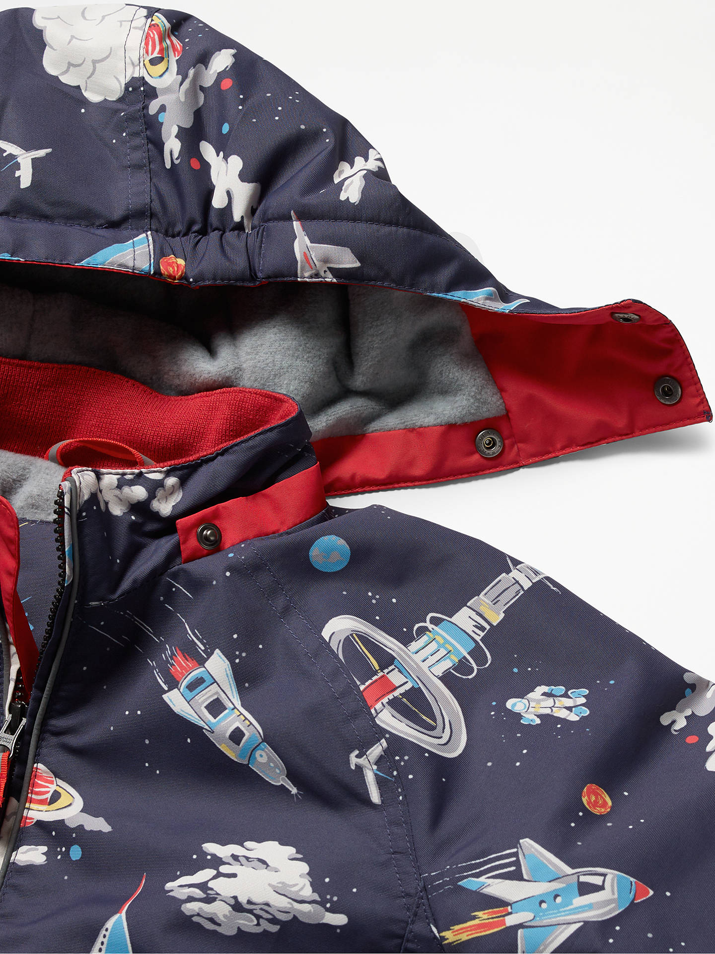 48c4a56925bd Mini Boden Boys  Fleece Lined Anorak Coat