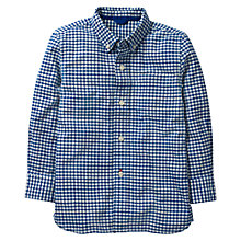 Buy Mini Boden Boys' Oxford Shirt, Blue Online at johnlewis.com