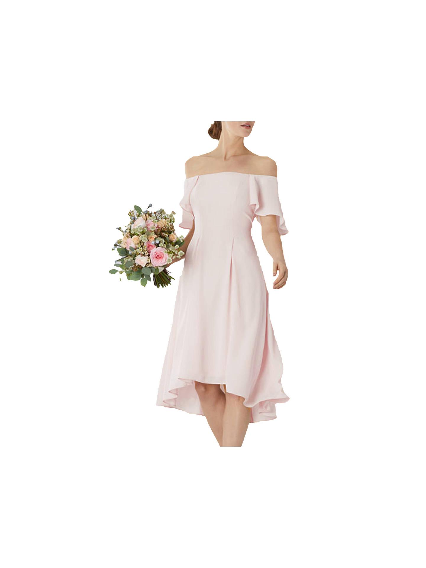 429dfa2f2e66 Buy Coast Betty Midi Dress, Blush, 6 Online at johnlewis.com ...