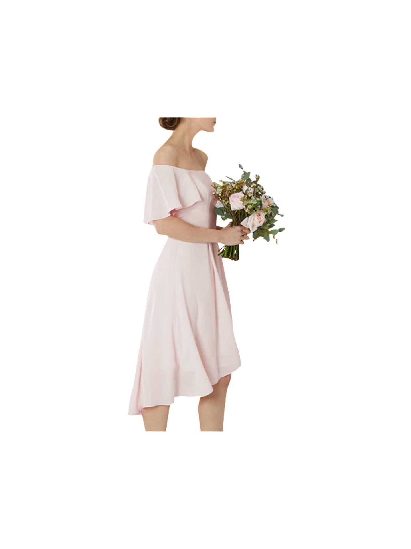 538f69dbf487 ... Buy Coast Betty Midi Dress, Blush, 6 Online at johnlewis.com ...