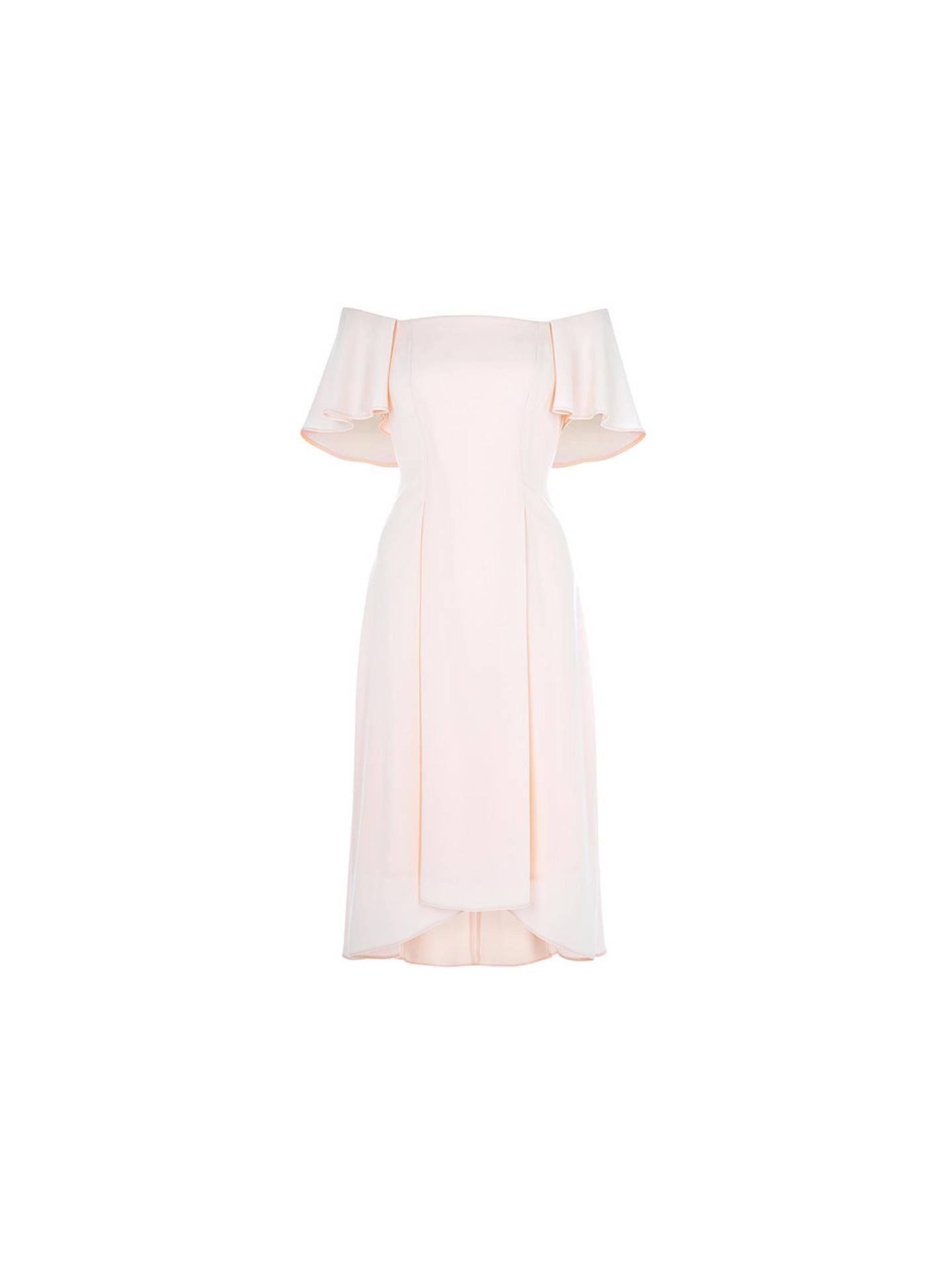 94431b32ff70 ... Buy Coast Betty Midi Dress, Blush, 6 Online at johnlewis.com