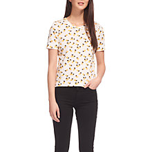Buy Whistles Pineapple T-Shirt, Cream/Multi Online at johnlewis.com