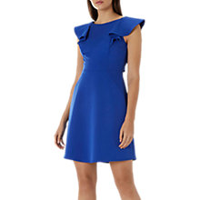 Buy Coast Evie Ruffle Dress, Cobalt Blue Online at johnlewis.com