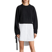 Buy AllSaints Sura Jumper Dress Online at johnlewis.com