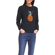 Buy Whistles Pineapple Sweatshirt, Multi Online at johnlewis.com