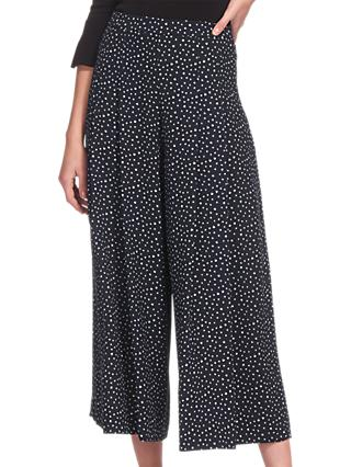 Whistles Micro Tulip Pleated Trousers, Multi