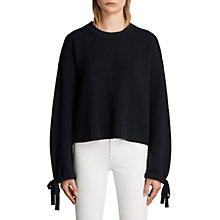Buy AllSaints Sura Jumper, Ink Blue Online at johnlewis.com