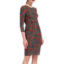 Buy Whistles Lottie Silk Blend Bodycon Dress, Multi Online at johnlewis.com