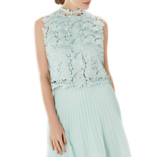 Buy Coast Izel Lace Top, Mint Online at johnlewis.com