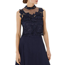 Buy Coast Janie Lace Tie Top Online at johnlewis.com