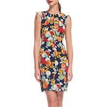 Buy Whistles Floral Print Bodycon Dress, Multi Online at johnlewis.com