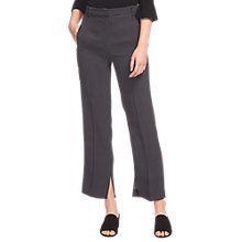 Buy Whistles Mini Spot Print Trousers, Navy Online at johnlewis.com
