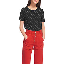 Buy Whistles Rosa Spot Double Trim T-Shirt, Multi Online at johnlewis.com