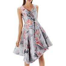 Buy Coast Jussieu Jacquard Dress, Multi Online at johnlewis.com